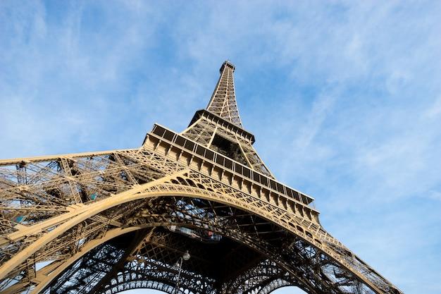 Wieża eiffla paryż, francja Premium Zdjęcia