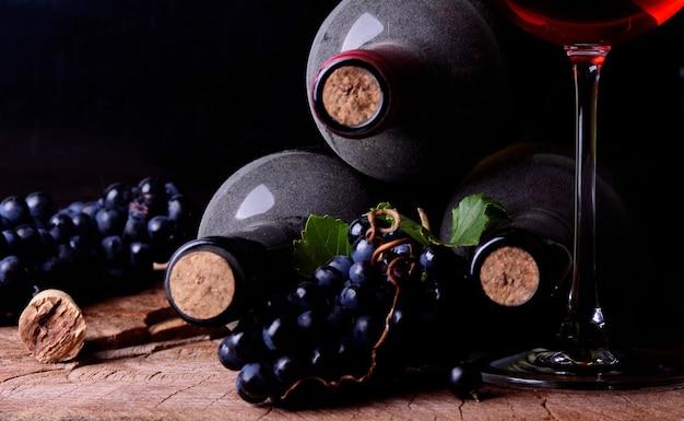 Winogronowe Wino Premium Zdjęcia