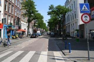 Witte de withstraat, znaki Darmowe Zdjęcia