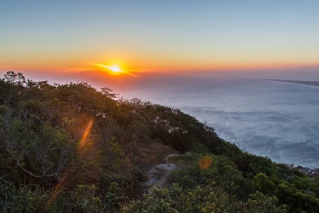 Wizualny Telegraficzny Kamień W Rio De Janeiro Premium Zdjęcia
