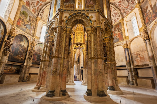 Wnętrze Klasztoru Chrystusa Premium Zdjęcia