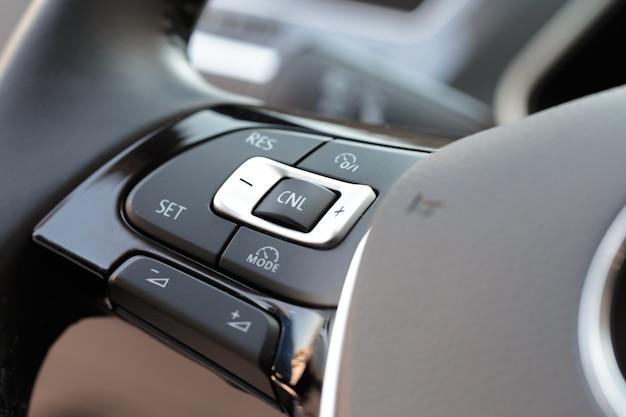 Wnętrze nowa auto Premium Zdjęcia