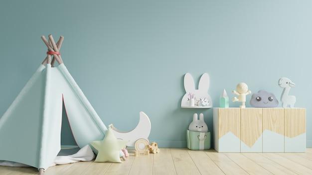 Wnętrze Pokoju Zabaw Dla Dzieci. Premium Zdjęcia