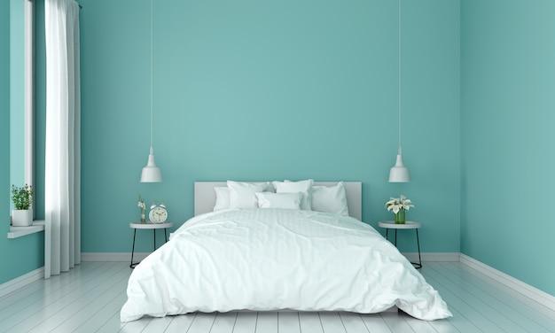 Wnętrze Sypialni Do Makiety Premium Zdjęcia