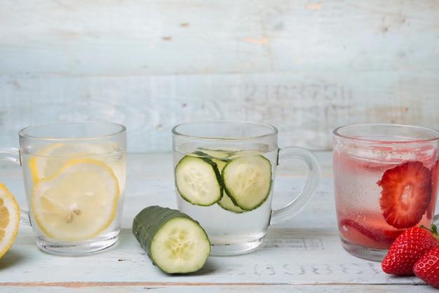 Woda z warzywami Premium Zdjęcia
