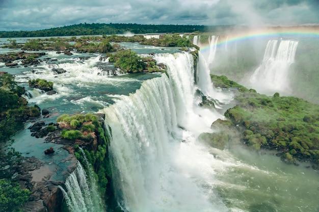 Wodospad iguazu Premium Zdjęcia
