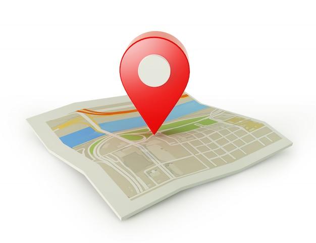 Wskaźnik Mapy Premium Zdjęcia