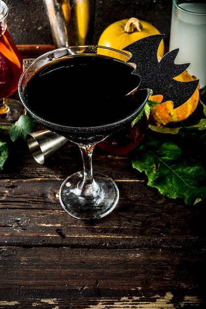 Wybór drinków na halloween Premium Zdjęcia