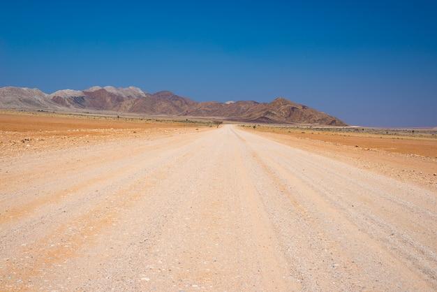 Wycieczka Samochodowa W Pustyni Namib, Namib Naukluft Park Narodowy, Podróży Miejsce Przeznaczenia W Namibia. Przygody Podróżnicze W Afryce. Premium Zdjęcia
