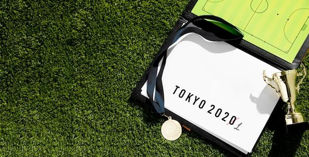 Wydarzenie Sportowe Tokio 2020 Przełożyło Asortyment Z Miejsca Kopiowania Darmowe Zdjęcia