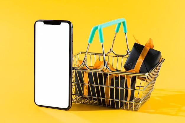 Wyprzedaż Zakupów W Cyber Poniedziałek Premium Zdjęcia