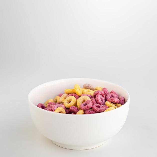 Wyśmienicie śniadanie Z Zbożami I Kopii Przestrzenią Darmowe Zdjęcia