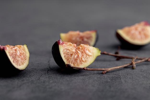 Wysoki Kąt Plasterków Fig Darmowe Zdjęcia