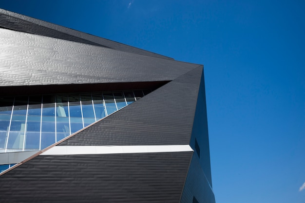 Wysoki Odcinek Us Bank Stadium, Minneapolis, Hrabstwo Hennepin, Minnesota, Usa Premium Zdjęcia