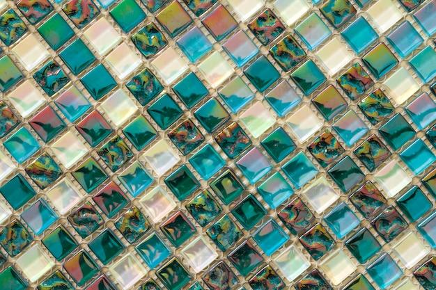 Wzór Geometryczny Kolorowe Mozaiki. Premium Zdjęcia