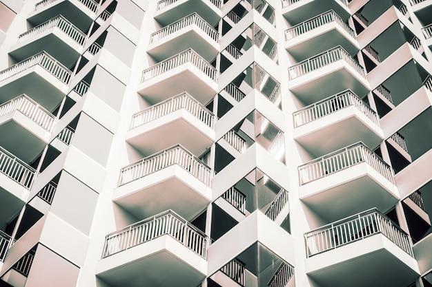 Wzór tekstury systemu windows na zewnątrz budynku Darmowe Zdjęcia
