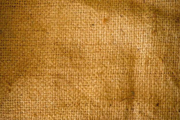 Wzór Tekstury Worka Jest Ciemny, Ale Jest Szczegółowy. Premium Zdjęcia