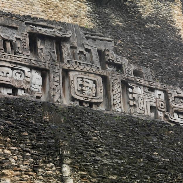 Xunantunich, ancient temple Premium Zdjęcia