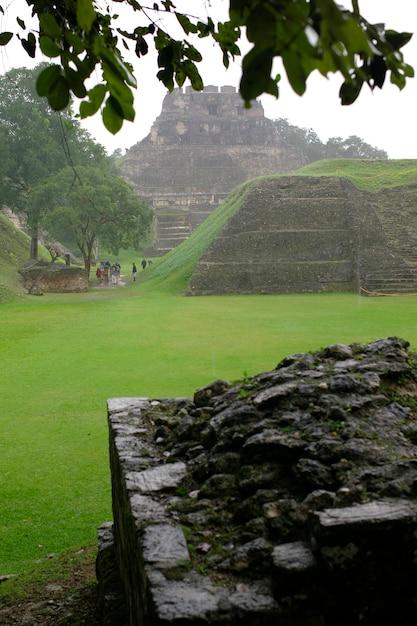 Xunantunich, ruiny majów Premium Zdjęcia