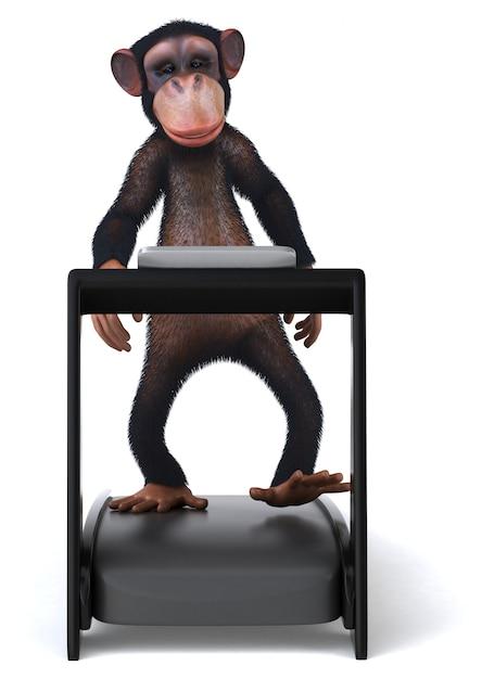 Zabawa Małpa Premium Zdjęcia