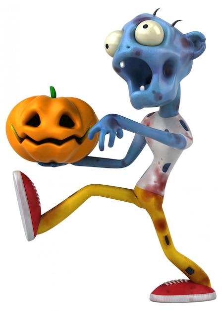 Zabawa Zombie - Ilustracja 3d Premium Zdjęcia