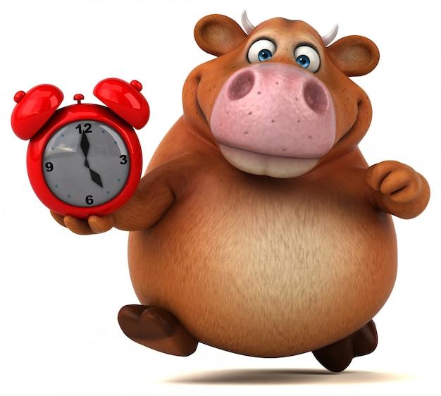 Zabawna Animacja Krów Premium Zdjęcia