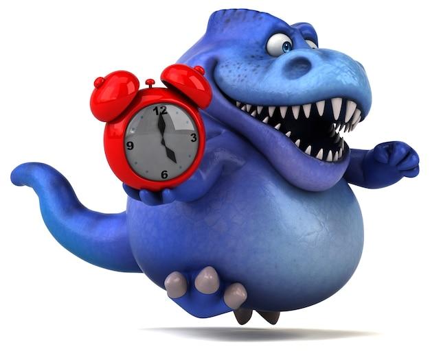 Zabawna Ilustracja Dinozaurów Premium Zdjęcia