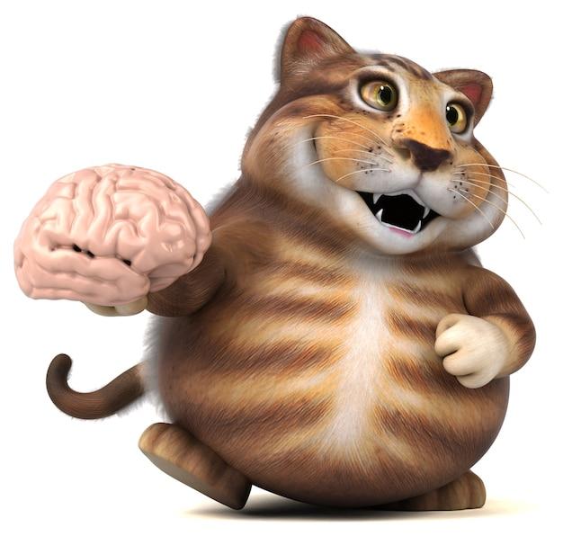 Zabawny Kot Premium Zdjęcia