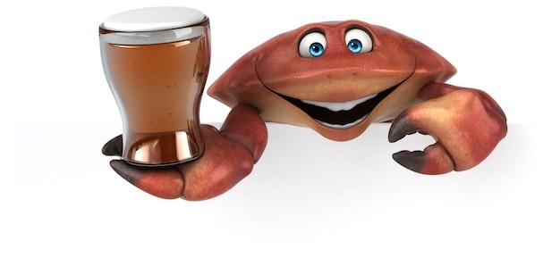 Zabawny Krab Premium Zdjęcia
