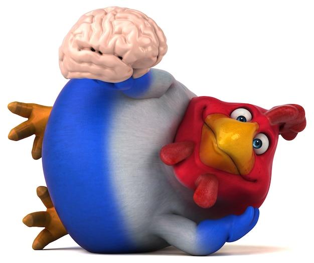 Zabawny Kurczak Premium Zdjęcia