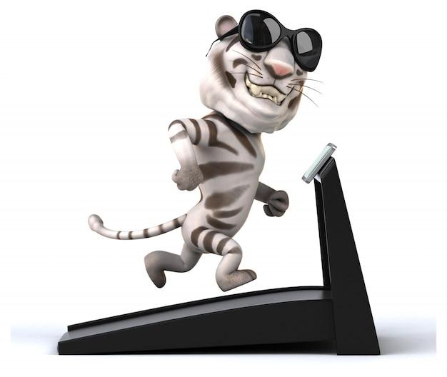 Zabawny Tygrys Premium Zdjęcia