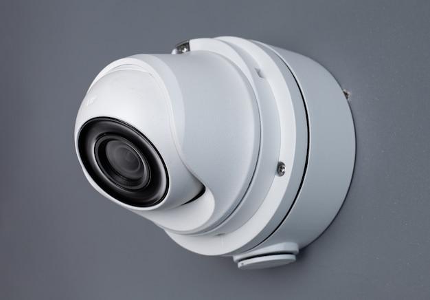 Zabezpieczenie Wideo Kamery Cctv Na ścianie. Premium Zdjęcia