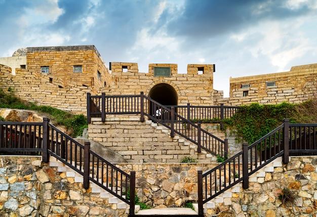 Zabytkowe Starożytne Mury Miejskie Premium Zdjęcia