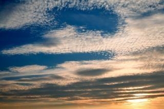 Zachód Słońca, Chmury Darmowe Zdjęcia