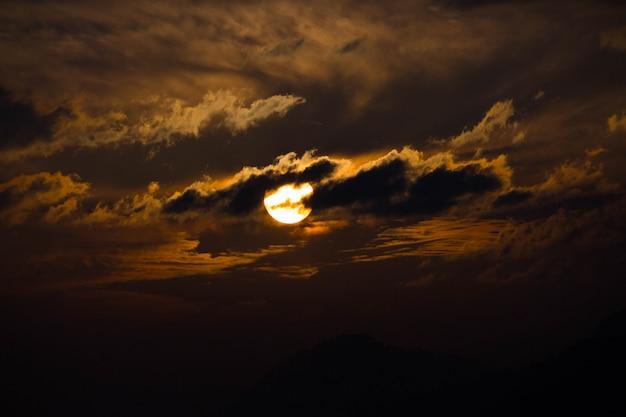 Zachód Słońca Po Południu Darmowe Zdjęcia