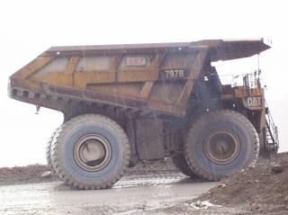 Zaciągu ciężarówka na kopalni złota Darmowe Zdjęcia