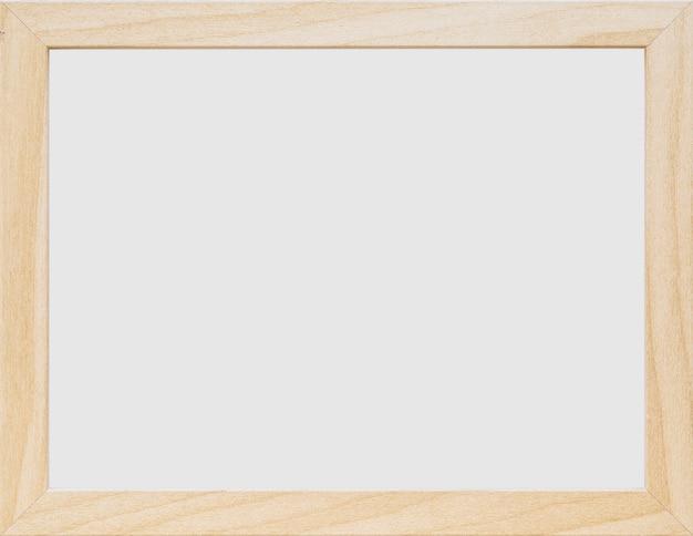 Zakończenie biała pusta drewniana rama Darmowe Zdjęcia