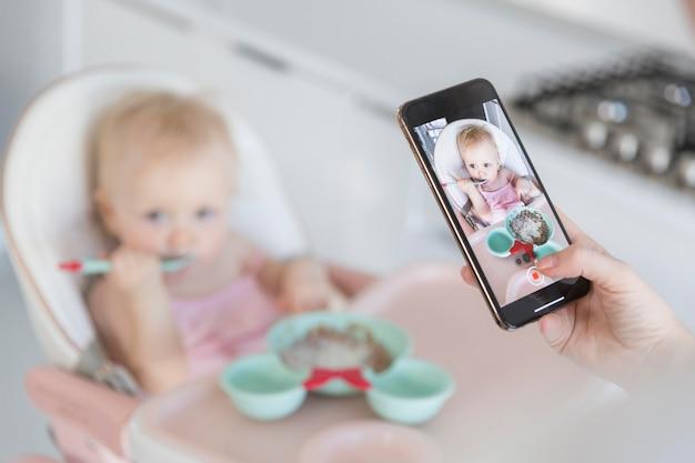 Zakończenie Matka Bierze Obrazek Dziecko Darmowe Zdjęcia