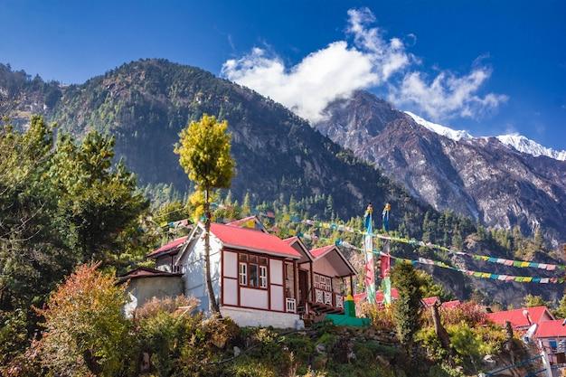 Zakwaterowanie Dla Turystów W Nepalu Premium Zdjęcia