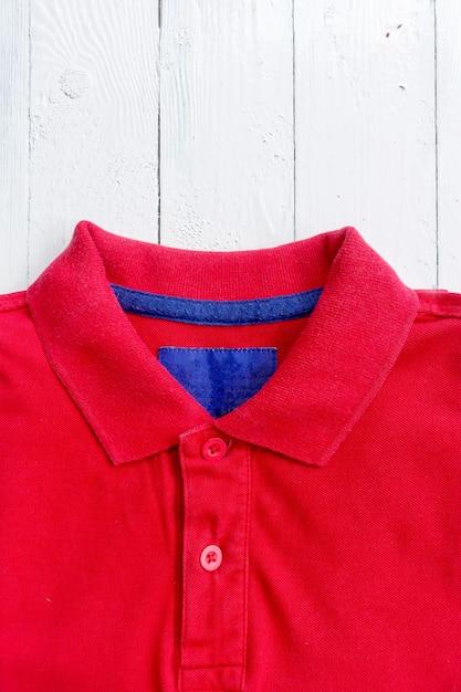 Zamknij Koszulkę Polo Premium Zdjęcia