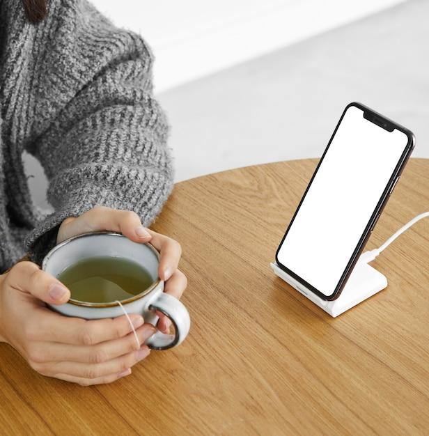 Zamknij Pusty Ekran Telefonu Komórkowego Darmowe Zdjęcia
