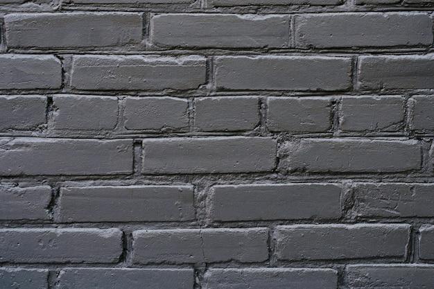 Zamknij Się Szczegółowe Zdjęcie Widoku Teksturowanej Ciemny Czarny Nowoczesny Styl Modny Stylowy Ceglany Mur Tło Copyspace Premium Zdjęcia