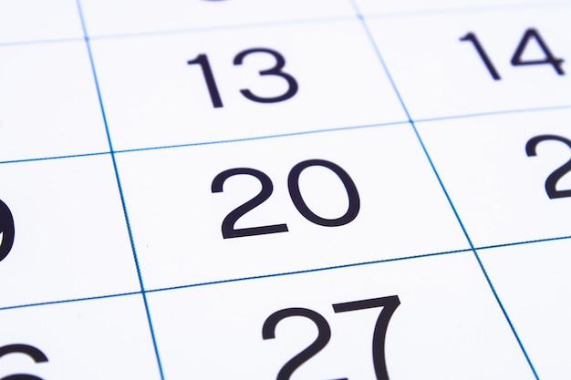 Zamknij stronę kalendarza. Premium Zdjęcia