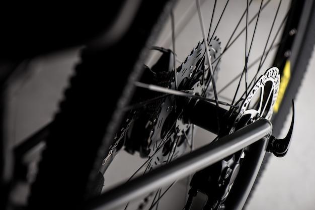 Zamknij Tylną Kasetę Roweru Górskiego Premium Zdjęcia