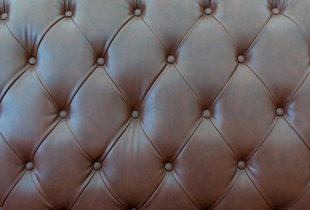 Zamyka w górę skóry tekstury kanapa Premium Zdjęcia
