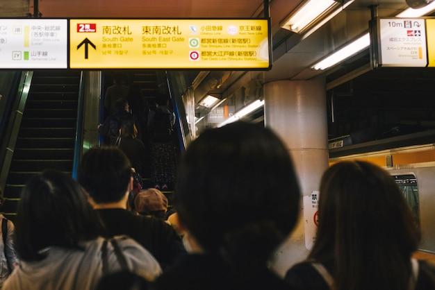 Zatłoczona Stacja Metra Darmowe Zdjęcia