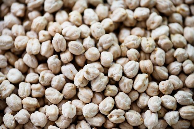 Zbliżenie Chickpeas Legumes Darmowe Zdjęcia