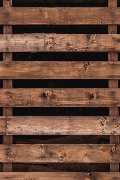 Zbliżenie Drewniani Desek Ogrodzenia Darmowe Zdjęcia