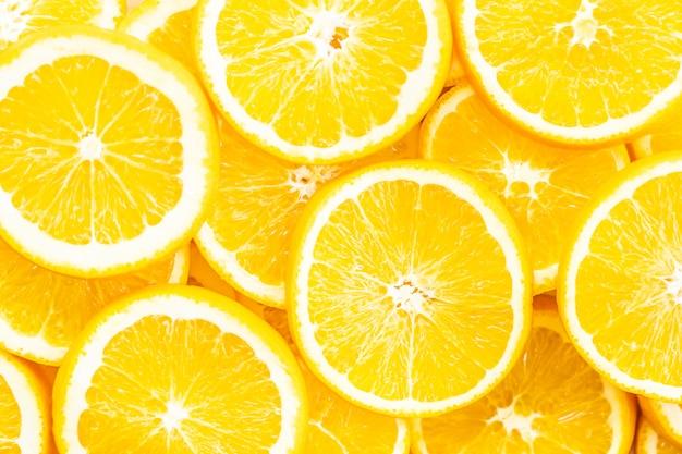 Zbliżenie Pomarańczowe Owocowe Tekstury I Powierzchnia Darmowe Zdjęcia