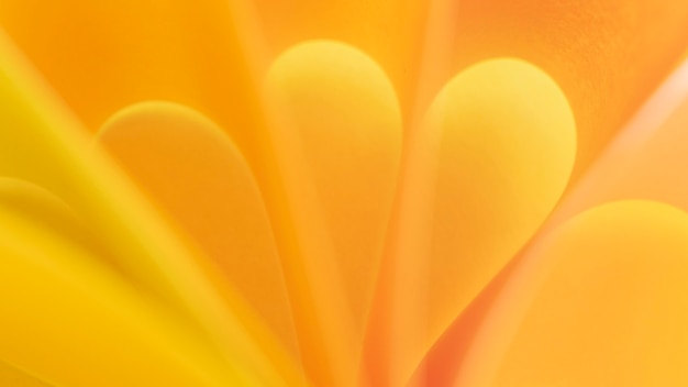 Zbliżenie żółty Krzywa Papieru Darmowe Zdjęcia